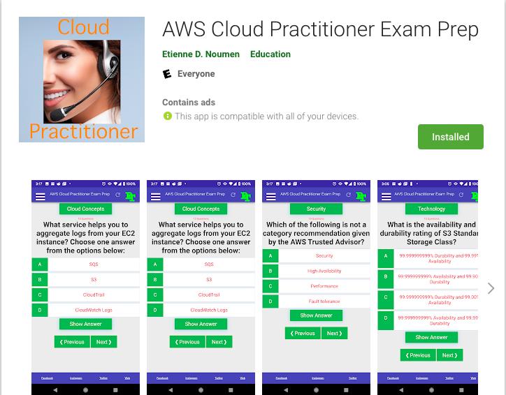 AWS Cloud Practitioner Exam Prep